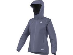 Adidas Outdoor 2016 Women's All Outdoor 2L Gore-Tex Wandertag Jacket (Super Purple - L)