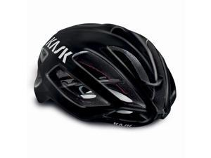 Kask Protone Road Cycling Helmet (Black with Black Trim - Medium)