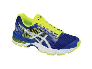 Asics 2016 Youth GEL-Nimbus 18 GS Running Shoe - C600N.4301 (Asics Blue/White/Flash Yellow - 3.5)