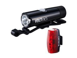 CatEye VOLT 80 Rapid Micro EL050/LD620 Bicycle Light Combo Kit - 8900340