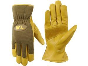 Wells Lamont  Ultra Comfort Cowhide Work Gloves for Men-XL - 1106XL