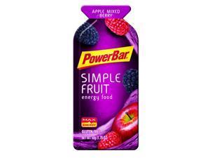 PowerBar Simple Fruit Energy Food - Box of 12 (Apple Mixed Berry)