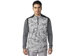 Adidas Golf 2016 Mens ClimaStorm Competition Wind Vest (Mid Grey/Black - S)