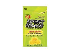 Jelly Belly 1oz Sport Bean Bag Gluten Free Kosher Certified Fuel and Replenish Bean (24 Pack) (Lemon-Lime)