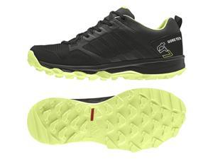 Adidas Outdoor 2015 Women's Kanadia 7 Trail GTX Trail Running Shoes - S82909 (Black/Semi Frozen Yellow/Chalk White - 7.5