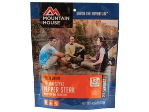 Mountain House Entrees Italian Style Pepper Steak - 53129