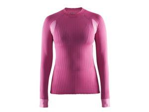 Craft 2017 Women's Active Extreme CN 2.0 Long Sleeve Shirt - 1904491 (Smoothie/Pop - XS)