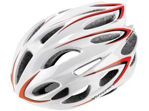 Vittoria V500 Road Cycling Helmet (White/Red - L)