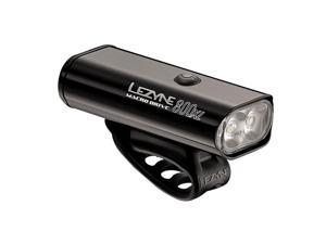 Lezyne Macro Drive 800XL Bicycle Headlight (BLACK HI GLOSS)