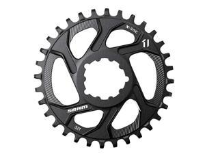 Sram X-Sync 34T 11Sp Direct Mount 3Mm Boost Chainring For Single Speed Aluminum Black - 11.6218.018.019