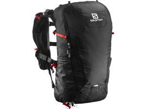 Salomon 2016/17 Peak 20 Pack (Black/Bright Red)