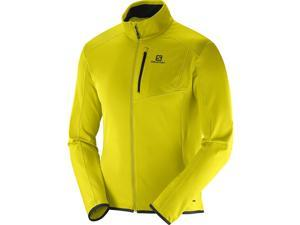 Salomon 2016/17 Mens Discovery Full Zip Jacket (Alpha Yellow - M)