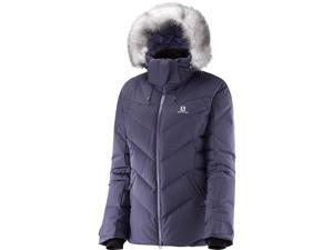 Salomon 2016/17 Womens Icetown Jacket (Nightshade Grey - M)