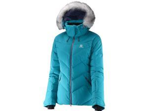 Salomon 2016/17 Womens Icetown Jacket (Kouak Blue - L)