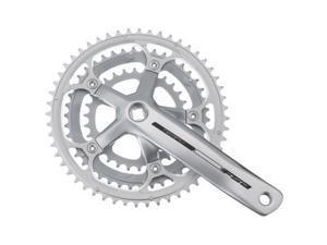 FSA Tempo Triple Bicycle Crankset (Silver - 30/39/50T 172.5mm S9/S8 JIS)