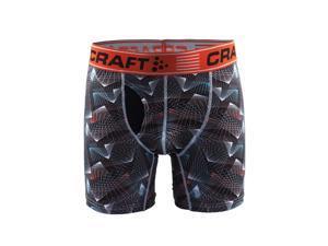 Craft 2016 Men's Greatness Cool 6in Boxer - 1904198 (P Beam Black/Heat - XL)
