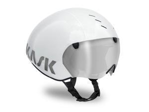 Kask Bambino Pro Time Trial Cycling Helmet (Silver - Medium)