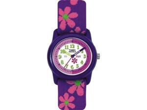 Timex Timex Youth Time Teacher With Flowers Watch - T89022