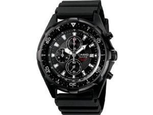 Casio Mens Casio Dive Style Stainless Steel Chronograph Watch - AMW330B-1A