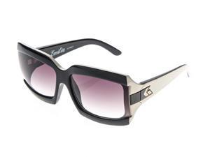 Gatorz Gatorz Emilia Black Purple Frame Purple Fade Lens Sunglasses - EMIBKP05F