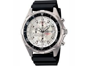 Casio Mens Casio Dive Style Stainless Steel Chronograph Watch - AMW330-7AV