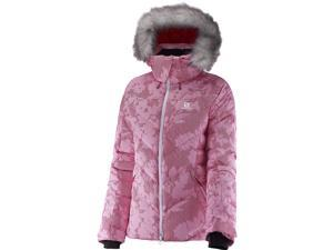 Salomon 2016/17 Womens Icetown + Jacket (Gaura Pink - M)