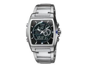 Casio Mens Ana-Digi Edifice Thermometer Bracelet Watch - EFA120D-1AV