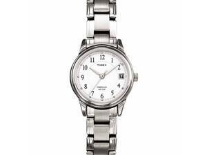 Timex Timex Womens Silvertone Dress Bracelet Watch - T29271