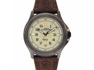 Timex Timex Mens Expedition Brown Leather Strap Watch - T47012