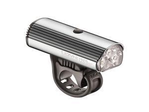 Lezyne Super Drive 1250XXL LED Bicycle Headlight Fully Loaded Kit - Polished Silver - 1-LED-6A-V519