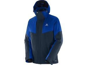 Salomon 2016/17 Mens Icerocket Jacket (Big Blue-X/Blue Yonder - M)