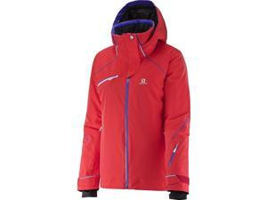 Salomon 2016/17 Womens Speed Jacket (Infrared - L)