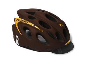 Catlike 2016 Kompact'O Urban Cycling Helmet (Brown/Orange - M)
