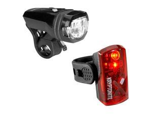 Kryptonite Alley F275/Avenue R19 Bicycle Headlight/Tail Light Set - 003076