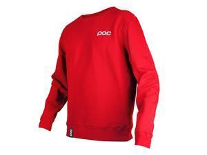 POC 2015 Men's Crew Neck Sweater - 61530 (Bohrium Red - M)