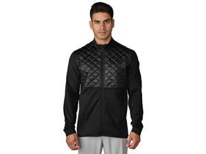 Adidas Golf 2017 Men's ClimaHeat Prime Quilted Full Zip Jacket (Black - M)