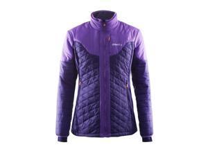 Craft 2015/16 Women's Insulation Winter Training Jacket - 1903576 (DYNASTY/LILAC - L)