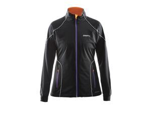 Craft 2015/16 Women's Performance Cross Country High Function Jacket - 1903684 (BLACK/LILAC - S)