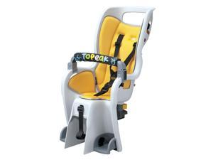 Topeak Baby Seat II 26in Non-Disc Rack Bicycle Baby Seat (Yellow Padding)