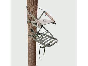Summit Treestands Sentry SD, Open Front Climbing Stand, 20x24.75in Platform SU81