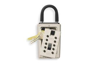 Keysafe, Portable Pushbutton, Clay