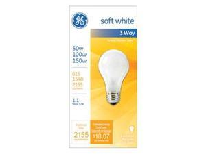 GE 50/150W SW 3WY Bulb, Pack of 12
