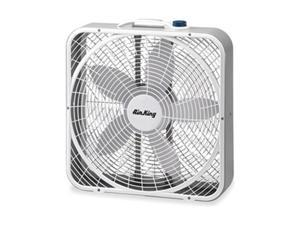 Portable Box Fan, 23-5/8 In. H, 20 In. L