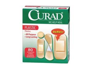 Bandage, Plastic, Asst Sizes, PK 80