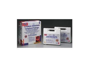 25 Person Package  - Exceeds Osha - Meets Ansi Standards  - One Ea. Of 223-An - 216-O with Cpr One-Way Valve Faceshie
