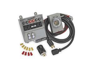 Manual Transfer Switch, 60A, 125/250V
