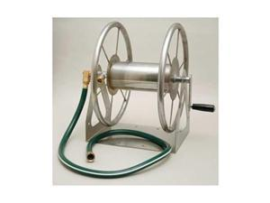 Wall Mount Hose Reel, Steel, 15-1/2 In.
