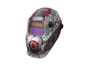 Auto Darkening Welding Helmet,  Black/White,  600S,  9 to 13 Lens Shade