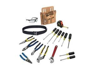 Electricians Tool Set, Journyman, 18-Piece