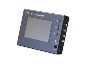 Install and Test Monitor, LCD, 4 In.